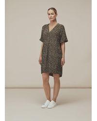 Whistles Fleck Print Alba Dress - Multicolour
