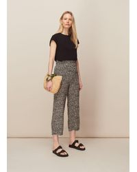 Whistles Spotted Animal Trouser - Multicolour
