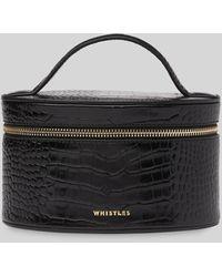 Whistles Travel Cosmetics Case - Black