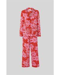 Whistles - Birds Of Paradise Pyjama Set - Lyst