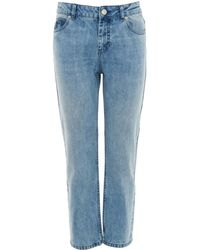 Whistles - Washed Straight Leg Jean - Lyst