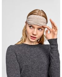 White + Warren Cashmere Eye Mask - Multicolor