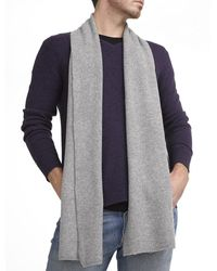 White + Warren - Mens Cashmere Thermal Scarf - Lyst