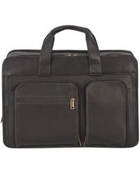 Wilsons Leather - Newport Vacqueta Leather Briefcase - Lyst