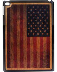 Wilsons Leather - Case Yard U.s. Flag Wood Ipad Case - Lyst