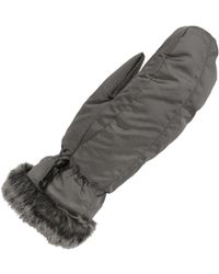Wilsons Leather - Essential Down Mitten W/ Faux Fur - Lyst