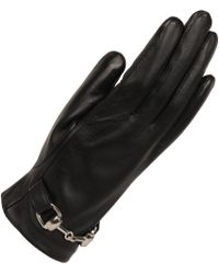 Wilsons Leather - Equestrian Leather Glove W/ Faux-fur Lining - Lyst