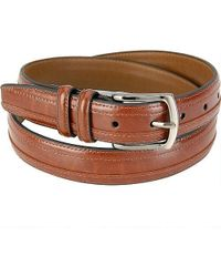 Wilsons Leather - Edge Overlay Leather Belt - Lyst