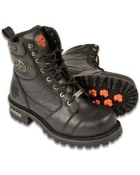 Wilsons Leather - Milwaukee Leather 8 Inch Classic Logger Leather Boot - Lyst