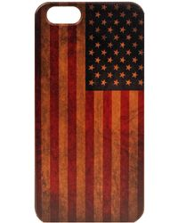 Wilsons Leather - Case Yard U.s. Flag Wood Iphone 6 Case - Lyst