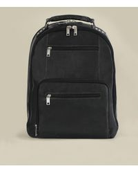 Wilsons Leather Steve Leather Laptop Backpack - Black