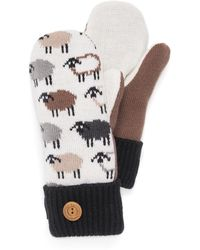 Wilsons Leather - Muk Luks® Potholder Sheep Mittens - Lyst