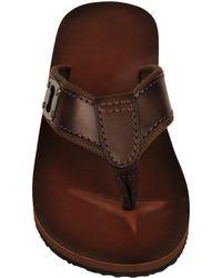 Wilsons Leather - Bottle Opener Leather Flip Flop - Lyst