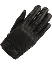 Wilsons Leather - Solid Molded Knuckle Motorcycle Glove W/ Adjustable Wrist - Lyst