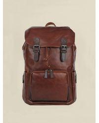 Wilsons Leather Daniel New Casa Backpack - Brown