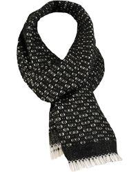Wilsons Leather - Weave Pattern Oblong Scarf - Lyst
