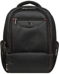 Wilsons Leather Executive Laptop /tablet Backpack - Black