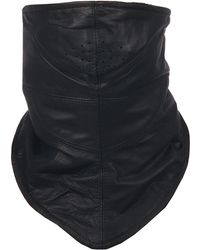 Wilsons Leather - Shaf Leather Face Mask W/ Micro Fleece Lining - Lyst