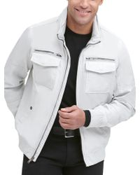 Wilsons Leather - Two Pocket Performance Bomber Jacket - Lyst