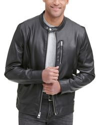 Wilsons Leather - Faux-leather Jacket With Zip Pockets - Lyst