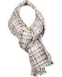 Wilsons Leather - Designer Brand Boucle Blanket Scarf - Lyst