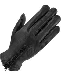 Wilsons Leather - Lined Leather Driving Glove W/ Zipper - Lyst