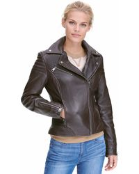 Wilsons Leather - Marc New York Leather Jacket W/ Quilting - Lyst