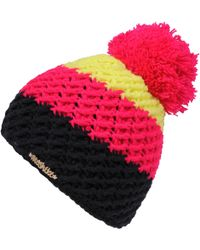 Wilsons Leather - Moshiki Knit Hat Pink - Lyst