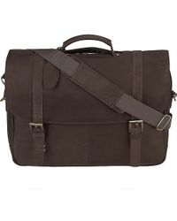 Wilsons Leather - Vacqueta Porthole-handle Leather Brief - Lyst