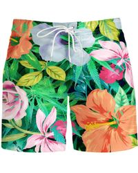 Aloha From Deer - Flowery Board Shorts - Lyst