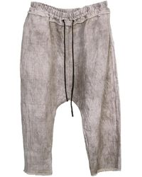 Zsigmond Dora Menswear Smoke Trousers - Grey