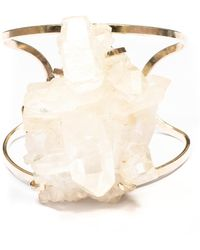 Tiana Jewel Chloe Quartz Bracelet - Metallic