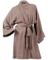 niLuu Sand Mini Kimono Robe - Multicolour