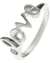 LÁTELITA London - Cosmic Love Ring Silver - Lyst