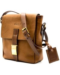 THE DUST COMPANY Mod 202 Small Messenger Bag In Arizona Brown