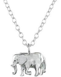 Lucy Flint Jewellery - Elephant Necklace - Lyst
