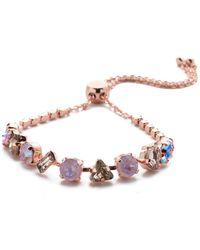 Sorrelli Cherished Slider Bracelet - Pink