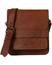 THE DUST COMPANY Mod 114 Small Messenger In Heritage Brown