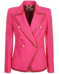 The Extreme Collection Pink Blazer Cordelia
