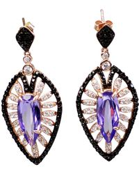 Bellus Domina - Amare Violet Earrings - Lyst