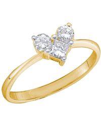 Cosanuova - 3-stone Diamond Engagement Ring In 14k White Gold - Lyst