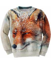 Aloha From Deer - The Fox Sweatshirt - Lyst