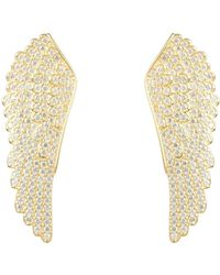 LÁTELITA London - Large Angel Wing Earring Gold - Lyst