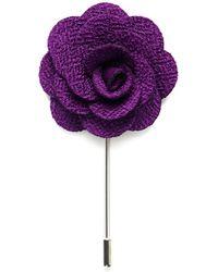 Tom Astin Beirut Lapel Pin - Purple