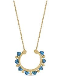 LMJ - Circle Of Fire Necklace - Lyst