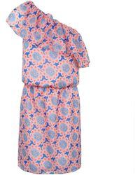 Ju Lovi - Palm Beach Silk Dress - Lyst