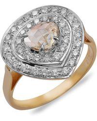 Emma Chapman Jewels - Peardrop Diamond Ring - Lyst