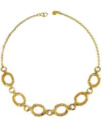 Annabelle Lucilla Jewellery - Night's Sky Etched Chain Necklace - Lyst