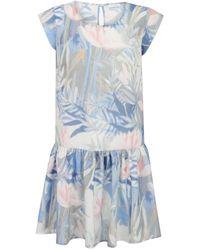 Ju Lovi | Virginia Dress Blue | Lyst