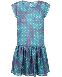 Ju Lovi Virginia Silk Dress Green